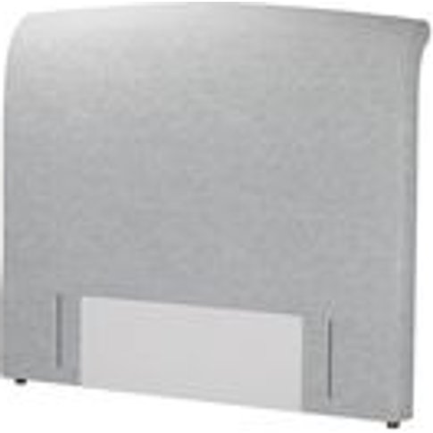Standalone Thea King Headboard In White Cliffs Whits...