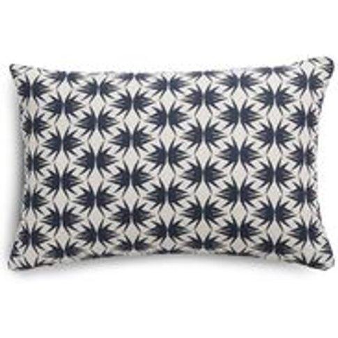 38x55cm Scatter Cushion In Anchor Zoe Glencross Pape...