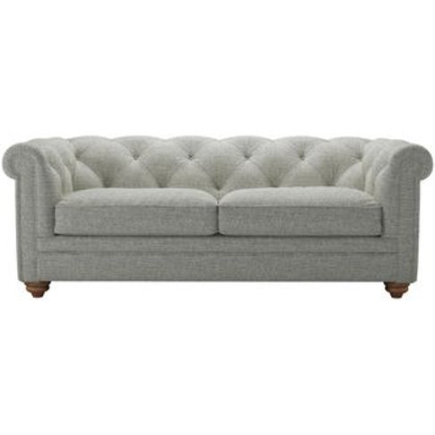 Patrick 2.5 Seat Sofa In Grey Marl Highland Tweed
