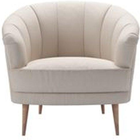 Harper Armchair In Oat Smart Linen