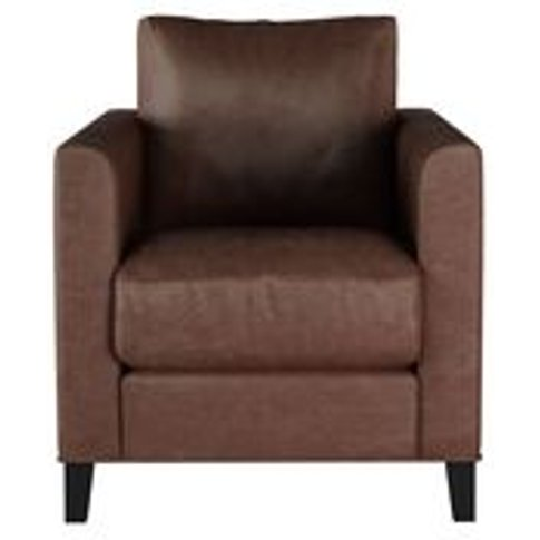 Izzy Armchair In Satchel Vintage Leather