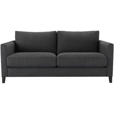 Izzy 2.5 Seat Sofa In Charcoal Brushed Linen Cotton