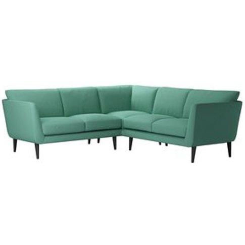 Holly Small Corner Sofa In Jungle Smart Linen
