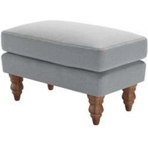 Isla Small Rectangular Footstool In Pumice House Pla...