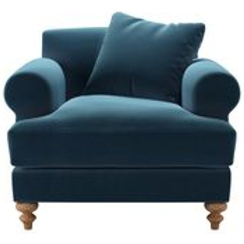 Teddy Armchair In Seaweed Smart Cotton