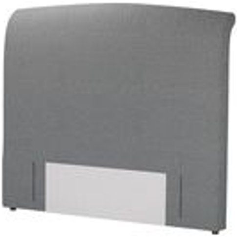 Standalone Thea King Headboard In Harbour Grey Whits...