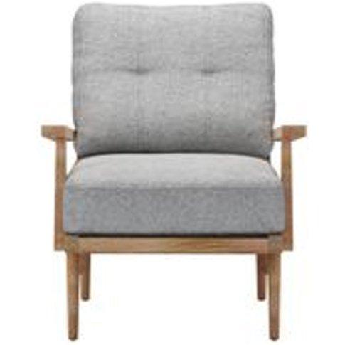 Hendrik Armchair in Ash Soft Wool