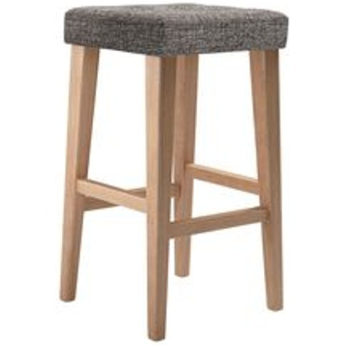 Buttons Tall Stool In Tribal Silver Antiqued Weave