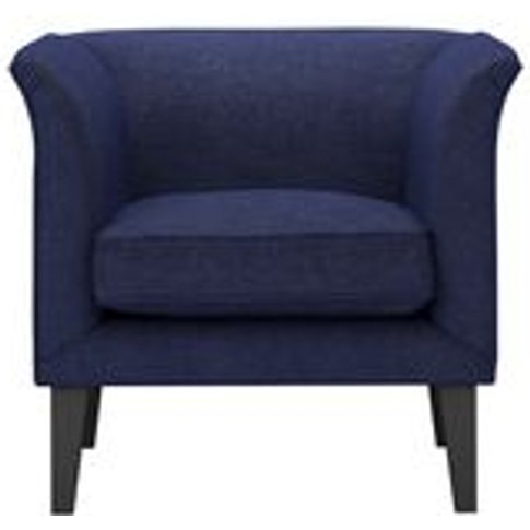 Fingal Armchair In Woad Soft Wool