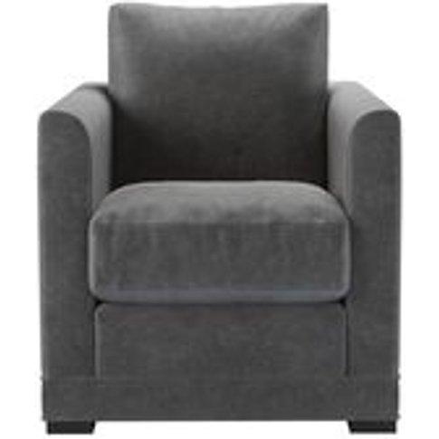 Aissa Armchair In Earl Grey Smart Velvet
