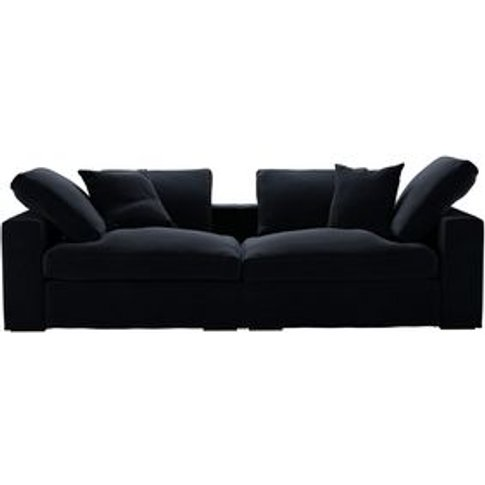 Long Island 2 Seat Sofa In Pitch Smart Cotton