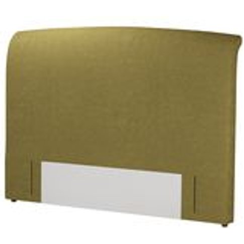 Standalone Thea Super King Headboard In Mossymere Norfolk Cotton