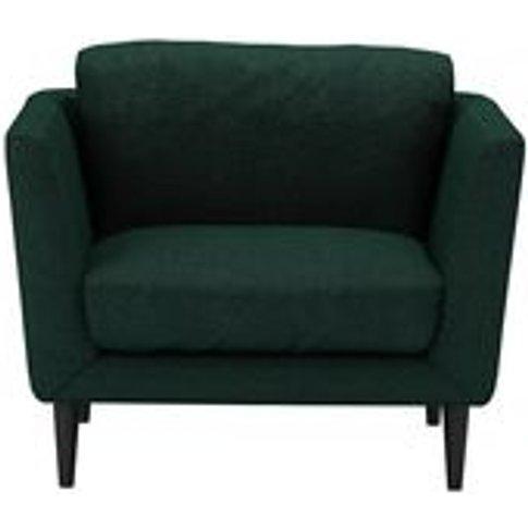 Holly Armchair In Cedar Soft Wool