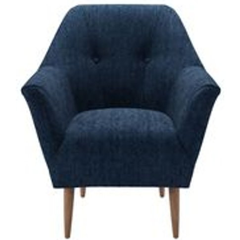 Minnie Armchair In Channel Blue  Sandgate