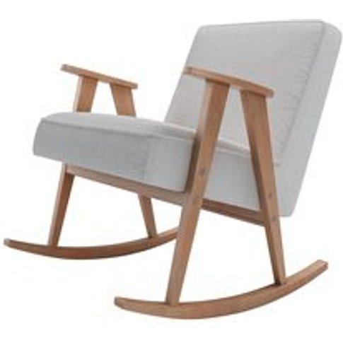 Rocky Armchair In Pumice House Herringbone Weave