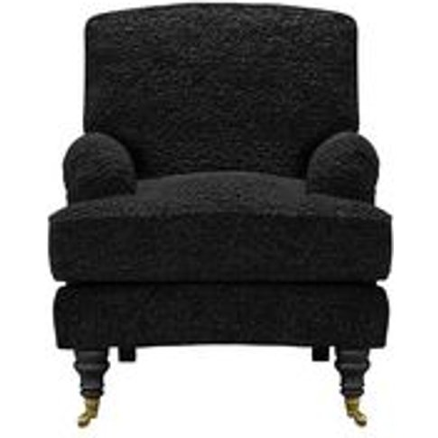Bluebell Small Armchair In Ashford Textured Boucle