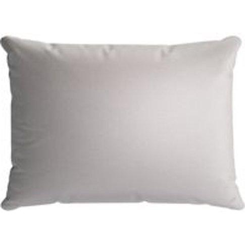 38x55cm Scatter Cushion In Dove Smart Velvet