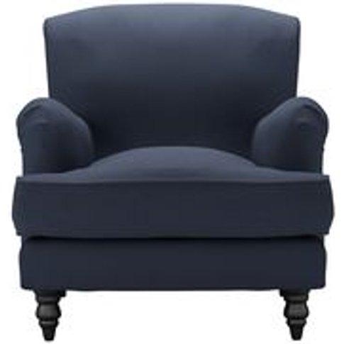 Snowdrop Armchair In Mercury Smart Linen