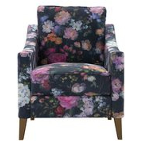 Iggy Armchair In Petunia Chelsea Bloom