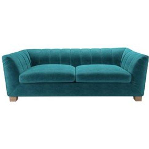 Albie 3 Seat Sofa In Neptune Smart Velvet