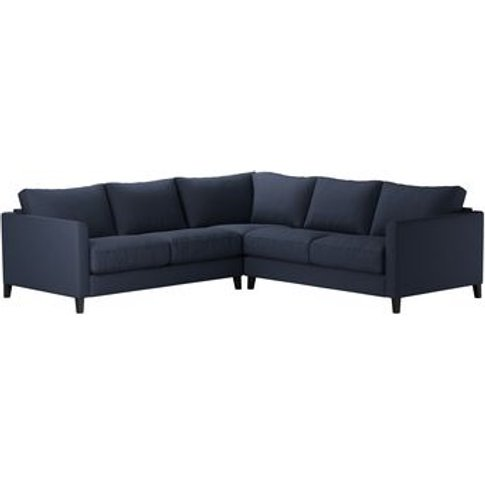 Izzy Small Corner Sofa In Mercury Smart Linen