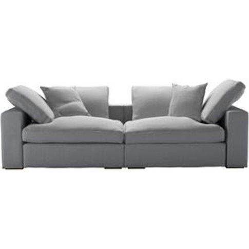 Long Island 2 Seat Sofa In Pumice House Plain Weave