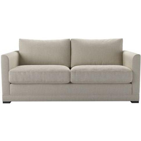 Aissa 2.5 Seat Sofa In Canvas Pure Belgian Linen