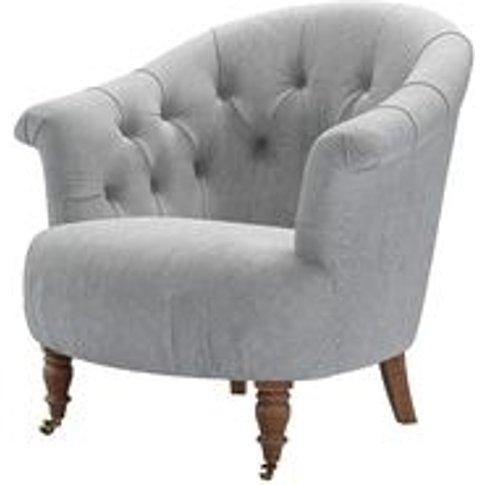 Bertie Armchair In Goodwin Grey Sandgate