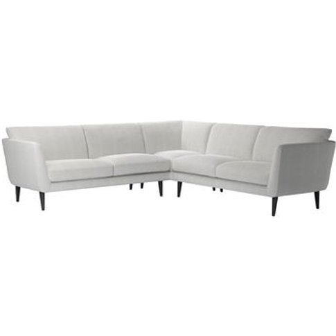 Holly Medium Corner Sofa In Pumice House Basket Weave