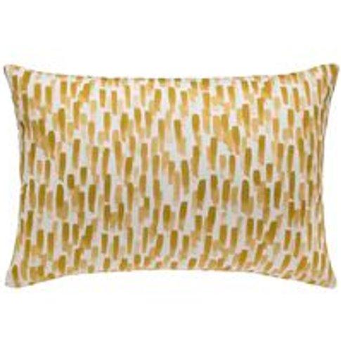 38x55cm Scatter Cushion In Sand Dune Filbert
