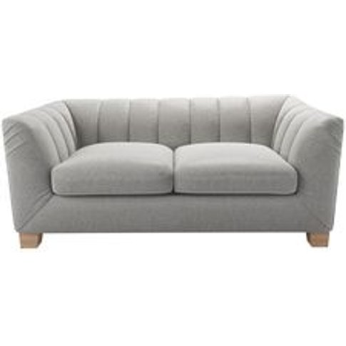 Albie 2 Seat Sofa In Abalone Smart Slubby Cotton