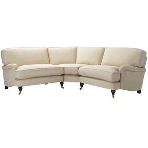 Bluebell Small Corner Sofa In Moon Smart Cotton