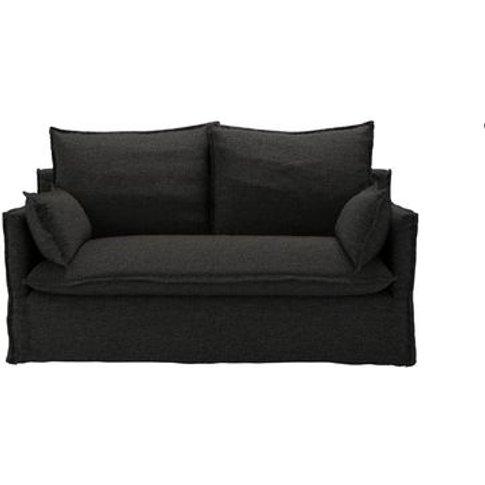 Isaac 2 Seat Sofa In Slate Highland Tweed