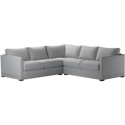 Aissa Small Corner Sofa In Pumice House Plain Weave