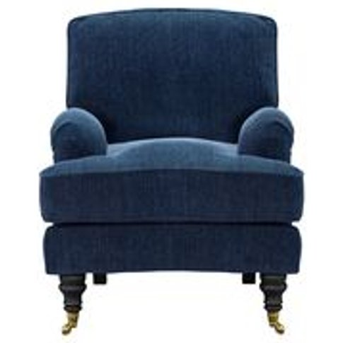 Bluebell Small Armchair In Como Chenille