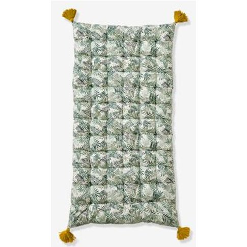 Floor Cushion, Hanoi Green Medium All Over Printed