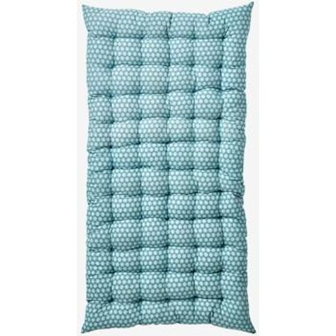 Floor Cushion Blue Medium All Over Printed