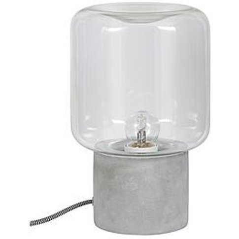 Ideal Home Hoxton Concrete Base Table Lamp
