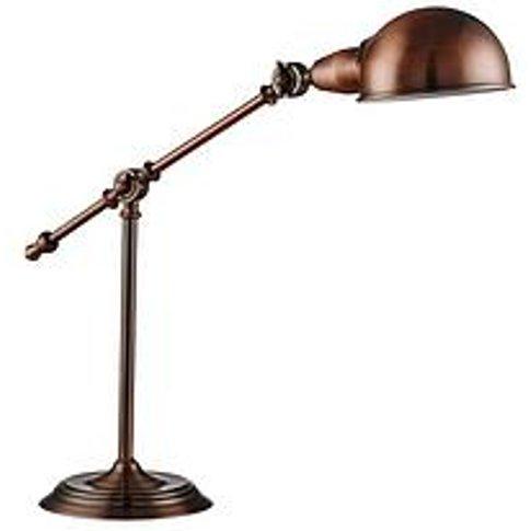 Antique Copper Task Table Lamp