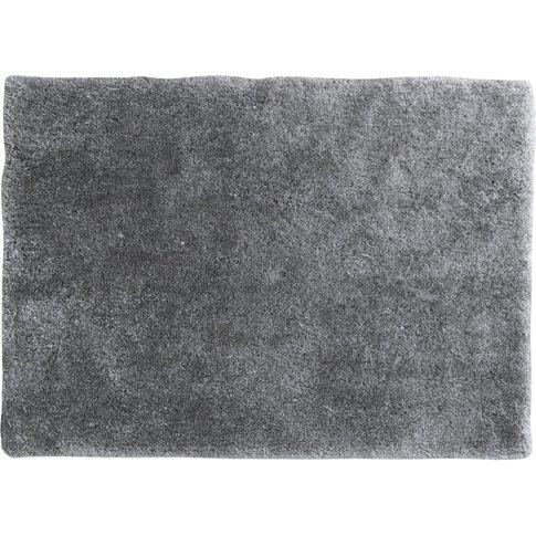 Fleece Rug In Grey 140x200