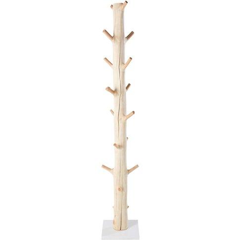 Mangosteen Tree Trunk Coat Stand