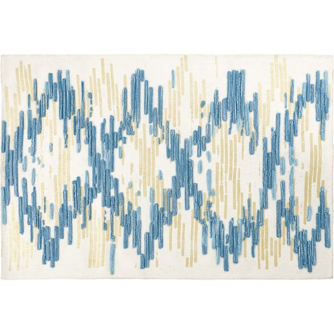 Striped Wool And Cotton Rug 160x230