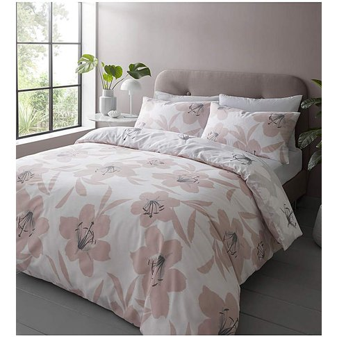 Catherine Lansfield Lily Duvet Cover Set