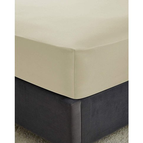 Hotel Quality 300 Cotton Fitted Sheet