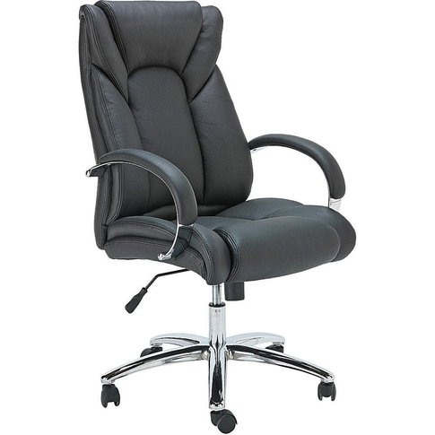 Leather Faced Ergonomic Office Chair