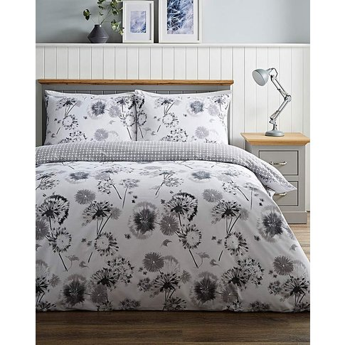 Willow Floral Duvet Cover Set