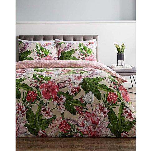 Azalea Floral Duvet Cover Set