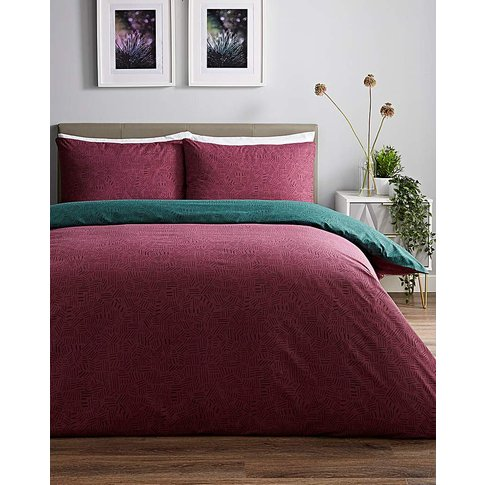 Arlene Reversible Duvet Cover Set