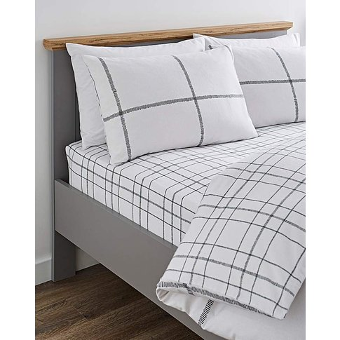 Cavill Brushed Cotton Fitted Sheet