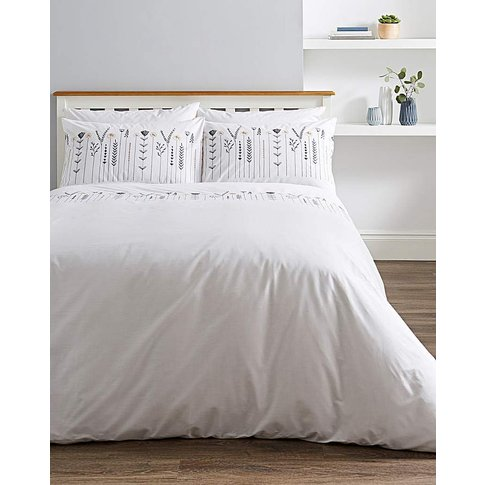 Molly Embroidered Duvet Cover Set